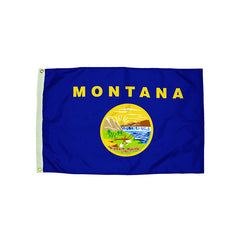 3X5 NYLON MONTANA FLAG HEADING & - Honor Roll Childcare Supply