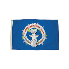 3X5 NYLON NORTHERN MARIANES FLAG - Honor Roll Childcare Supply