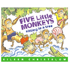 5 LITTLE MONKEYS SITTING IN A TREE - Honor Roll Childcare Supply