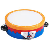 6IN MULTI-COLORED TAMBOURINE - Honor Roll Childcare Supply