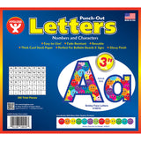 3IN PUNCH OUT LETTERS SMILEY FACES - Honor Roll Childcare Supply