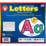 3IN PUNCH OUT LETTERS ASSORTED FISH - Honor Roll Childcare Supply