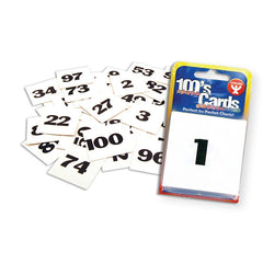 100S CARDS 2 X 2 - Honor Roll Childcare Supply