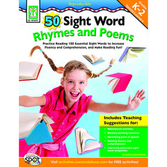 50 SIGHT WORD RHYMES AND POEMS - Honor Roll Childcare Supply