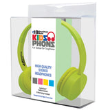 Yellow KidzPhonz™ Headphone - Honor Roll Childcare Supply