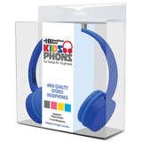 Blue KidzPhonz™ Headphone - Honor Roll Childcare Supply