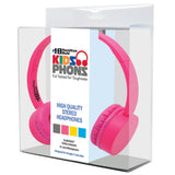Pink KidzPhonz™ Headphone - Honor Roll Childcare Supply
