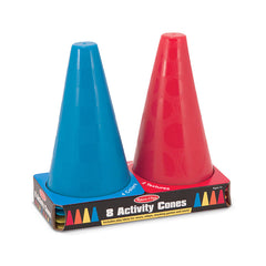 8 ACTIVITY CONES - Honor Roll Childcare Supply