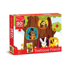 30 PC TREEHOUSE FRIENDS CARDBOARD - Honor Roll Childcare Supply