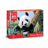 30 PC GIANT PANDA CARDBOARD JIGSAW - Honor Roll Childcare Supply