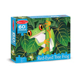 60 PC RED-EYED TREE FROG CARDBOARD - Honor Roll Childcare Supply