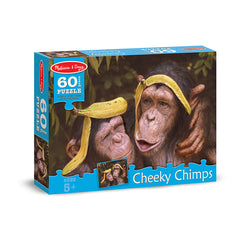60 PC CHEEKY CHIMPS CARDBOARD - Honor Roll Childcare Supply