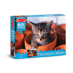 60 PC FLOWERPOT KITTEN CARDBOARD - Honor Roll Childcare Supply