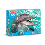 60 PC SMILING DOLPHIN CARDBOARD - Honor Roll Childcare Supply