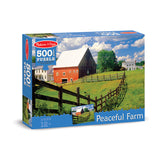 500 PC BUCOLIC BARN CARDBOARD - Honor Roll Childcare Supply