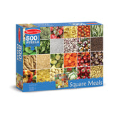 500 PC SQUARE MEALS CARDBOARD - Honor Roll Childcare Supply