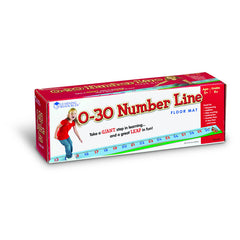 0-30 NUMBER LINE FLOOR MAT - Honor Roll Childcare Supply