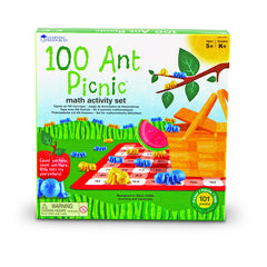 100 ANT PICNIC MATH ACTIVITY SET - Honor Roll Childcare Supply