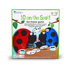 10 ON THE SPOT TEN FRAME GAME - Honor Roll Childcare Supply