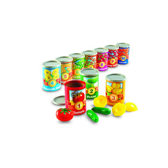 1 TO 10 COUNTING CANS - Honor Roll Childcare Supply