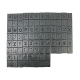 BRAILLE CHIPS FOR THE SIGHTED 44PCS