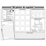 BASIC SPANISH ACTIVITY POSTERS - Honor Roll Childcare Supply