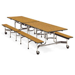"17""hx29""hx12'L-Mobile Bench Tables - Honor Roll Childcare Supply"