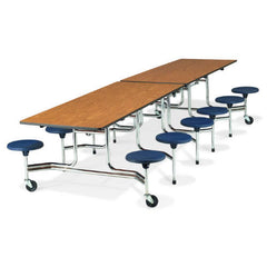 "12 Stool 17""hx29""hx10'L Mobile Tables - Honor Roll Childcare Supply"