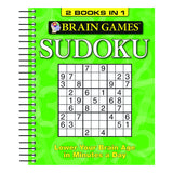 BRAIN GAMES SUDOKU BINDUP 1