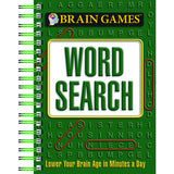 BRAIN GAMES MINI WORD SEARCHES