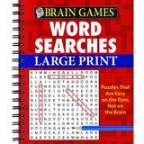 BRAIN GAMES WORD SEARCHES LARGE