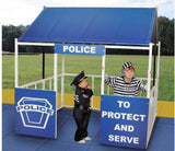 Police Station Playhouse - Honor Roll Childcare Supply