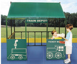 Train Depot Playhouse - Honor Roll Childcare Supply