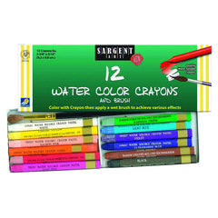 12 CT WATERCOLOR CRAYON - Honor Roll Childcare Supply