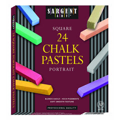 24CT PORTRAIT COLOR ARTISTS CHALK - Honor Roll Childcare Supply