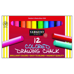 12CT DRAWING CHALK - Honor Roll Childcare Supply