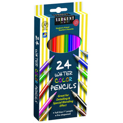 24CT SARGENT WATERCOLOR PENCIL 7 IN - Honor Roll Childcare Supply