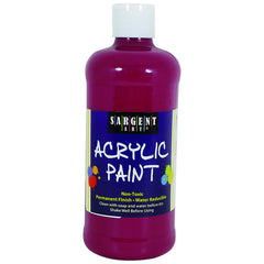 16OZ ACRYLIC PAINT - MAGENTA - Honor Roll Childcare Supply