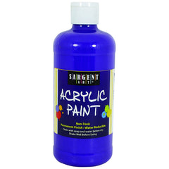 16OZ ACRYLIC PAINT - VIOLET - Honor Roll Childcare Supply