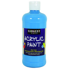 16OZ ACRYLIC PAINT - TURQUOISE - Honor Roll Childcare Supply