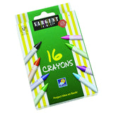 SARGENT ART CRAYONS 16 COUNT TUCK