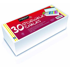 30CT SIDEWALK CHALK BEST BUY - Honor Roll Childcare Supply