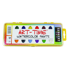 16 ART TIME SEMI MOIST COLORS - Honor Roll Childcare Supply
