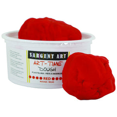 1LB ART TIME DOUGH - RED - Honor Roll Childcare Supply