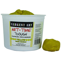 3LB ART TIME DOUGH - YELLOW - Honor Roll Childcare Supply