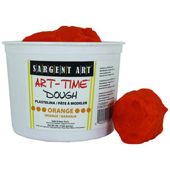 3LB ART TIME DOUGH - ORANGE - Honor Roll Childcare Supply