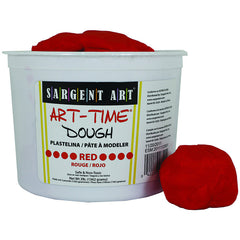 3LB ART TIME DOUGH - RED - Honor Roll Childcare Supply