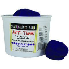 3LB ART TIME DOUGH - VIOLET - Honor Roll Childcare Supply