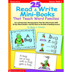 25 READ & WRITE MINIBOOKS THAT - Honor Roll Childcare Supply