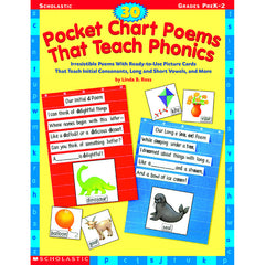 30 POCKET CHART POEMS THAT TEACH - Honor Roll Childcare Supply
